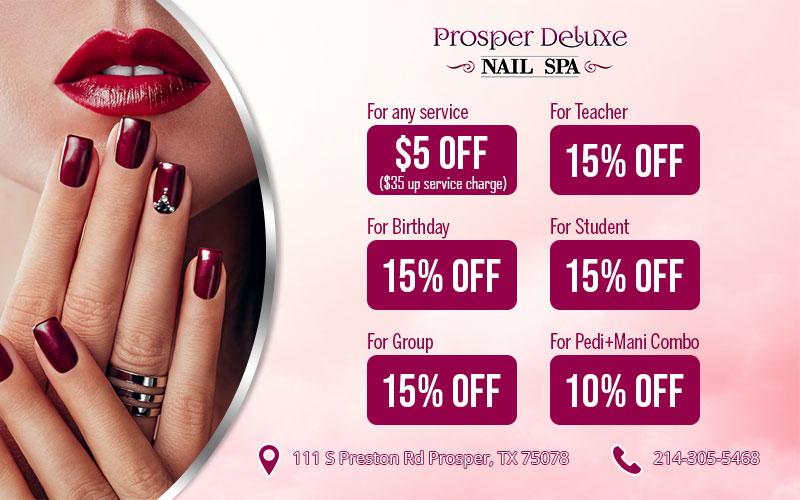 Prosper Deluxe Nail Spa
